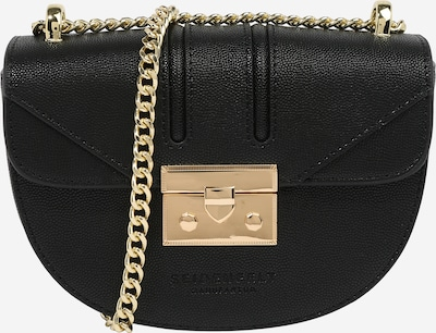 Seidenfelt Manufaktur Crossbody bag 'Roros Moon' in Gold / Black, Item view