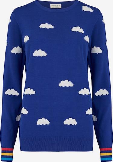 Pulover 'Rita Dreamy Days' Sugarhill Brighton pe albastru / alb, Vizualizare produs