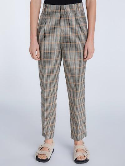 SET Kalhoty - žlutá / šedá / tmavě zelená / černá, Model/ka