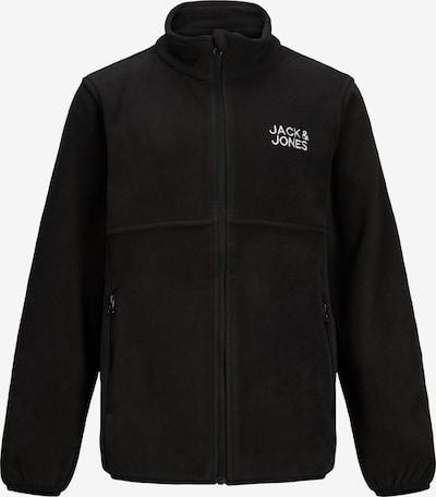 Jack & Jones Junior Jacke in schwarz / weiß, Produktansicht