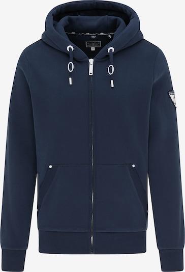 DreiMaster Maritim Sweatvest in de kleur Donkerblauw, Productweergave