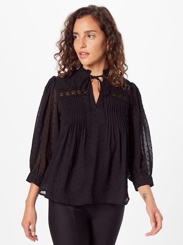 ONLY Bluzka 'MADONNA' w kolorze czarny