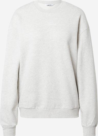 Envii Sweatshirt 'MONROE' in hellgrau / weiß, Produktansicht