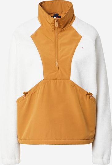 Tommy Jeans Jacke 'OTTOMAN' in honig / weiß, Produktansicht