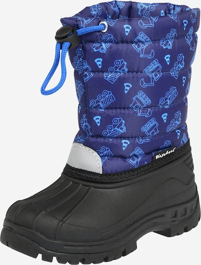 PLAYSHOES Snow boots in Blue / Light blue / Light grey / Black, Item view