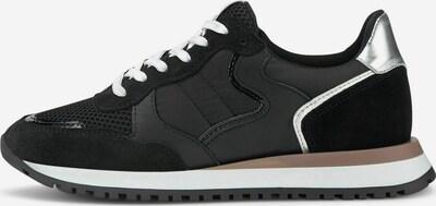 COX Sneaker in taupe / schwarz / silber / weiß, Produktansicht