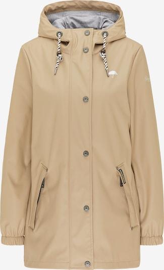 Schmuddelwedda Jacke in beige / grau, Produktansicht