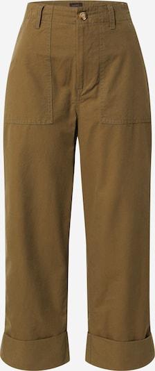 Herrlicher Pantalon cargo 'Nana' en olive, Vue avec produit