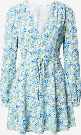 GLAMOROUS Robe en bleu / jaune / blanc, Vue avec produit
