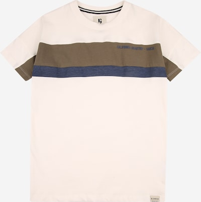 Maglietta GARCIA di colore navy / cachi / offwhite, Visualizzazione prodotti