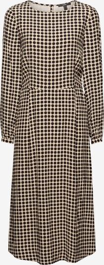 Esprit Collection Jurk in de kleur Beige / Navy, Productweergave