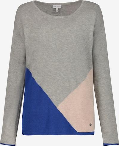 Gina Laura Pullover in blau / grau / rosa, Produktansicht