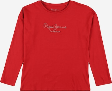 Pepe Jeans Shirt 'Nuria' in Red