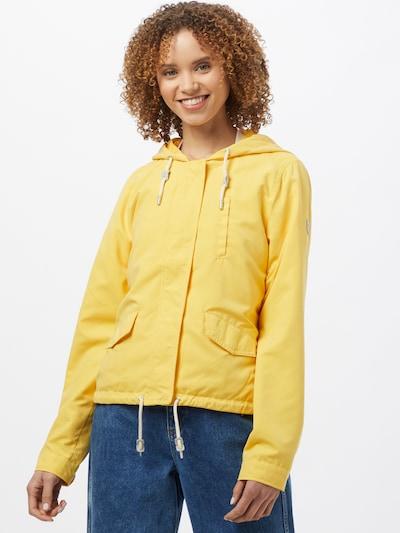 ONLY Prehodna jakna 'SKYLAR' | rumena barva: Frontalni pogled