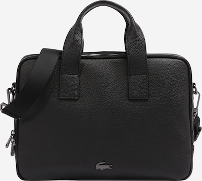 LACOSTE Document bag in black, Item view