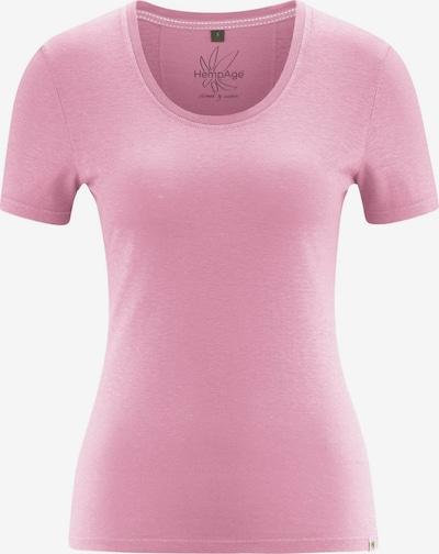 HempAge T-Shirt ' T-Shirt Jersey ' in pink, Produktansicht