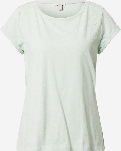 EDC BY ESPRIT T-shirt en vert pastel, Vue avec produit