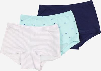 SCHIESSER Onderbroek in de kleur Aqua / Donkerblauw / Orchidee / Wit, Productweergave