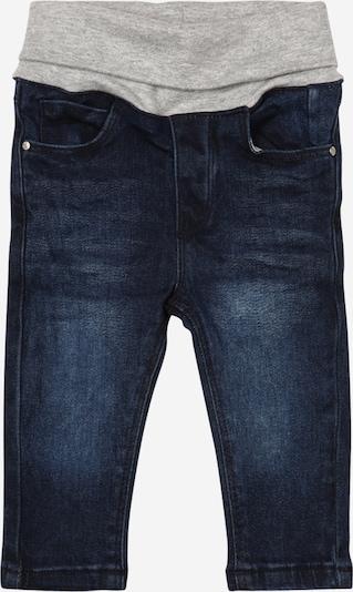 STACCATO Jeans in blue denim / graumeliert, Produktansicht