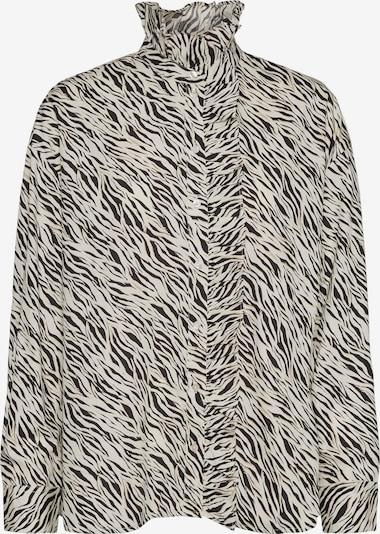 AWARE by Vero Moda Bluse 'Rylee Katie' in beige / schwarz / weiß, Produktansicht