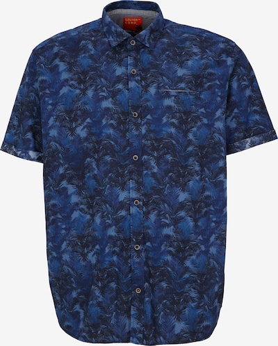 s.Oliver Men Big Sizes Hemd in kobaltblau / himmelblau, Produktansicht