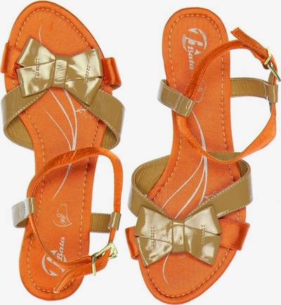 Bata Sandals & High-Heeled Sandals in 38 in Fir / Orange, Item view