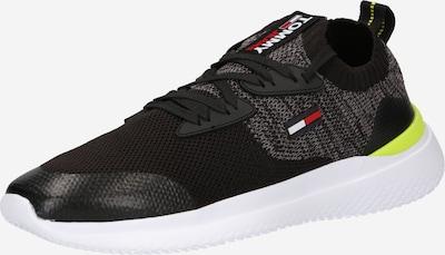 Tommy Jeans Sneaker in neongelb / rot / schwarz / weiß, Produktansicht