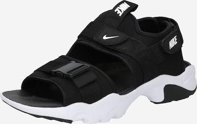 Nike Sportswear Patikointisandaalit 'Canyon' värissä musta / valkoinen, Tuotenäkymä