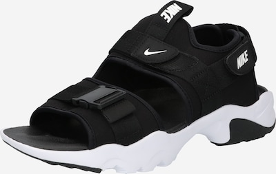 Nike Sportswear Sandalias de trekking 'Canyon' en negro / blanco, Vista del producto