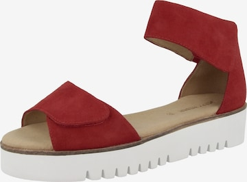 GERRY WEBER Sandale in Rot