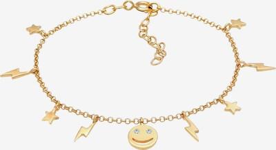 ELLI Armband Blitz, Smiley, Sterne in gold, Produktansicht