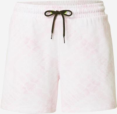 DKNY Performance Pantalon en rose clair / blanc, Vue avec produit