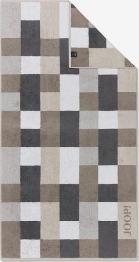 JOOP! Duschtuch in beige / dunkelbeige / dunkelbraun / weiß, Produktansicht
