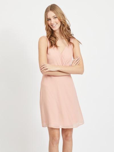 VILA Kleid in puder, Modelansicht