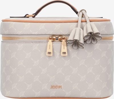 JOOP! Beautycase 'Cortina Flora' in beige / hellgrau, Produktansicht