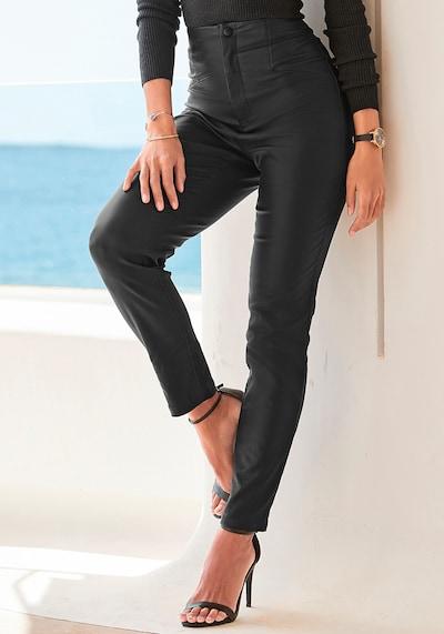 Jeggings LASCANA pe negru, Vizualizare model