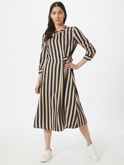 Riani Kleid in beige / marine, Modelansicht