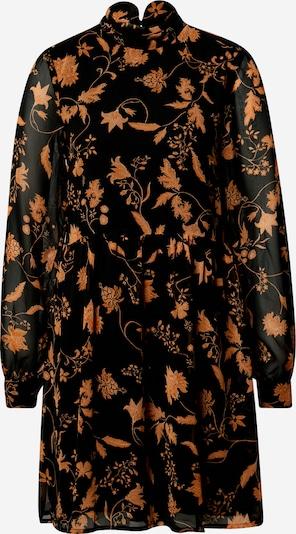 VILA Kleid in orange / schwarz: Frontalansicht