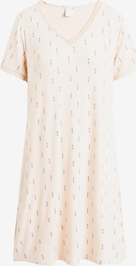 CCDK Copenhagen Nachthemd in beige / schwarz, Produktansicht