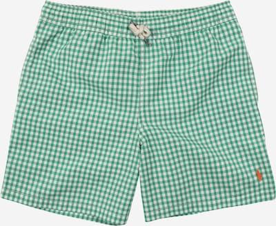 Șorturi de baie 'TRAVELER' Polo Ralph Lauren pe verde / verde pastel / alb, Vizualizare produs