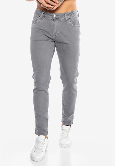 Redbridge Jeanshose 'Saitama Colored' in grau, Modelansicht
