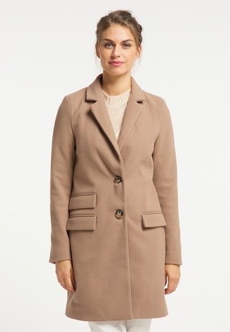 - CONTRAER - Between-Seasons Coat in Brown