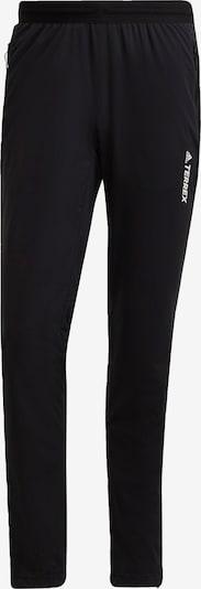 ADIDAS PERFORMANCE Sportbroek 'TERREX Xperior' in de kleur Zwart / Wit, Productweergave