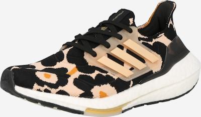 ADIDAS PERFORMANCE Chaussure de course en pêche / orange clair / noir, Vue avec produit