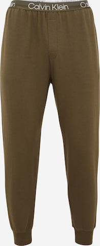 zaļš Calvin Klein Underwear Pidžamas bikses