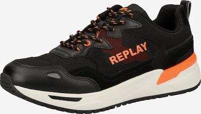 REPLAY Sneaker in mandarine / pastellrot / schwarz, Produktansicht