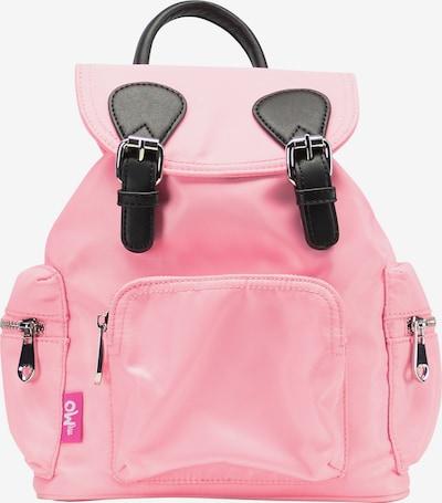MYMO Rucksack in pastellpink / schwarz, Produktansicht
