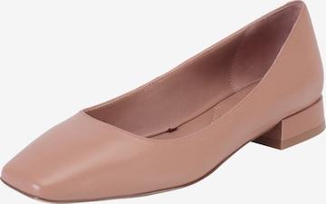 Ekonika Ballet Flats 'ALLA PUGACHOVA' in Beige