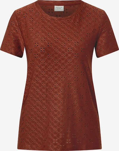JACQUELINE de YONG T-Shirt 'CATHINKA' in rostbraun, Produktansicht