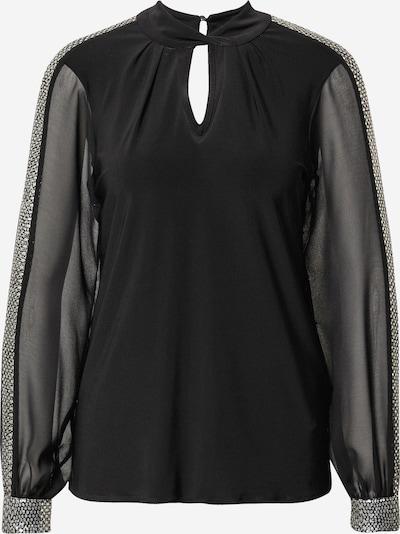 Bluză Dorothy Perkins pe negru / argintiu, Vizualizare produs